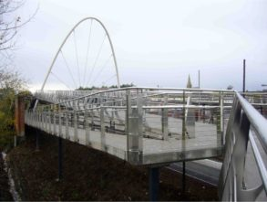 Video Bridge Opening Ballymoney