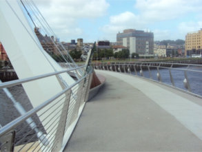 Peace Bridge, Derry – Londonderry
