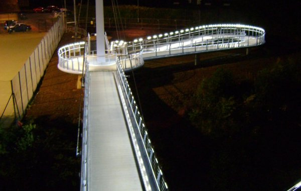 Joe Calzaghe Footbridge
